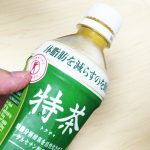 サントリー緑茶 伊右衛門 特茶(特定保健用食品)を飲んでみた【感想・口コミは?】
