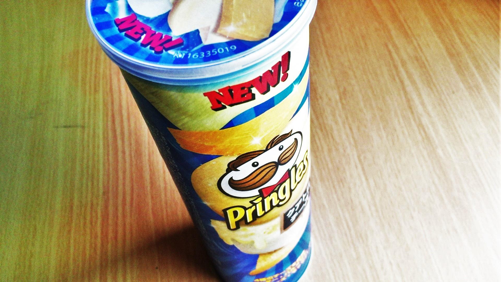 プリングルズ(pringles)クアトロチーズを食べてみた【感想・口コミは?】