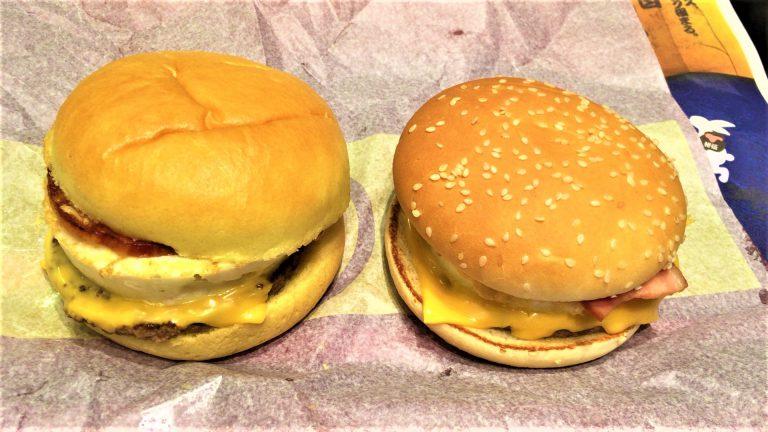 二代目月見バーガーのチーズ(マクドナルド)を食べてみた【感想・口コミは?】