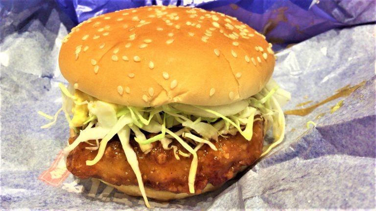 宮崎名物 チキン南蛮バーガー(マクドナルド)を食べてみた【感想・口コミは?】
