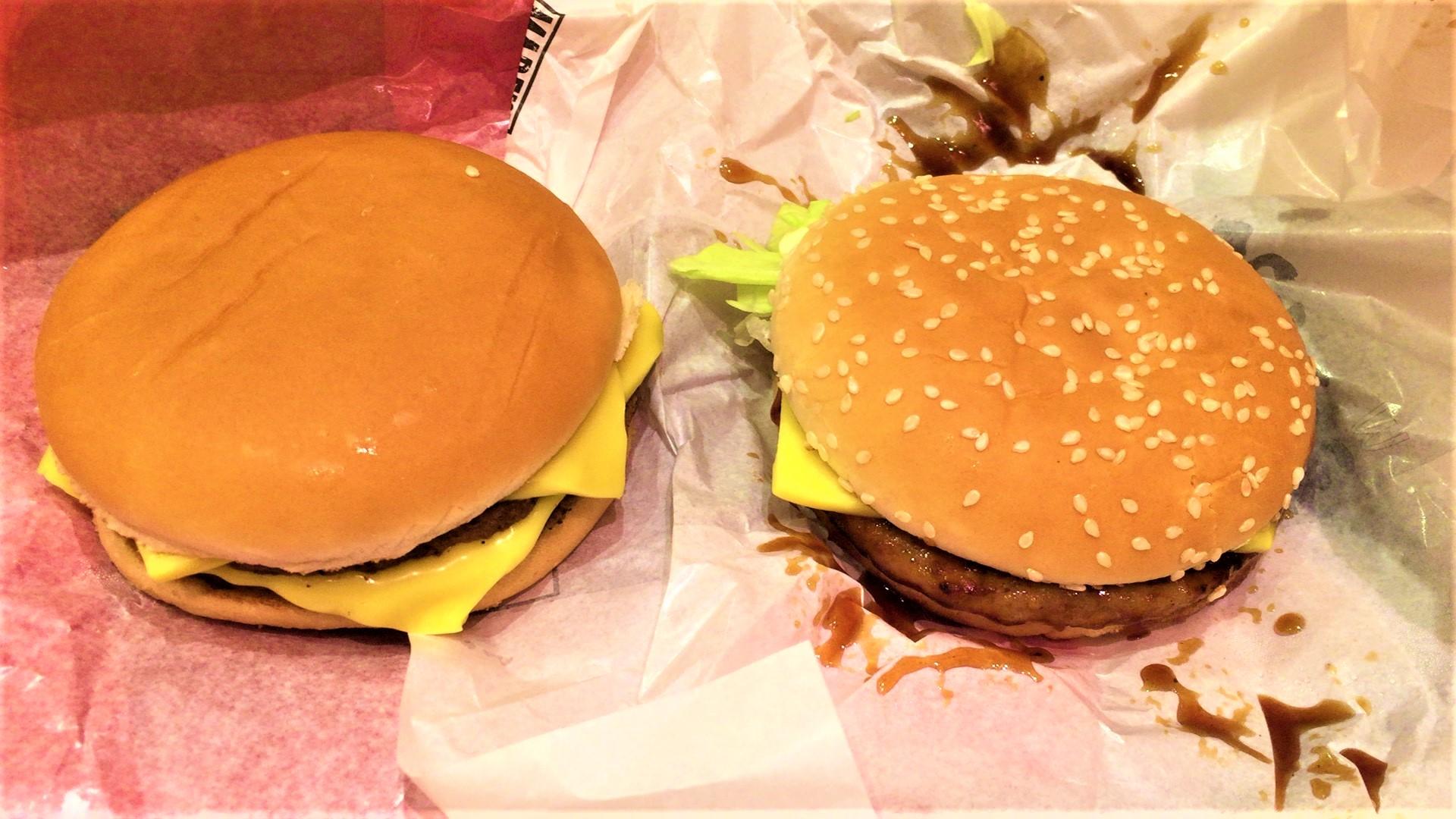 アツ!チーダブチ、アツ!チーてりやき(マクドナルド)を食べてみた【感想・口コミは?】