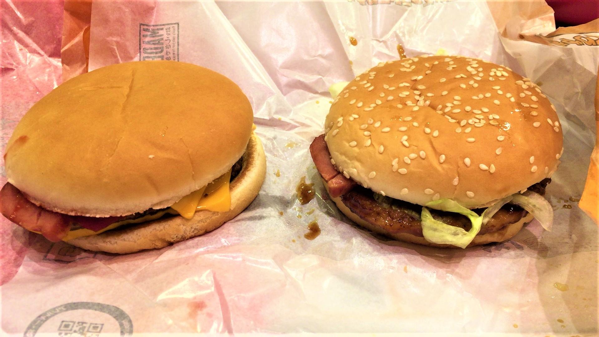 アツ!ベーダブチ、アツ!ベーてりやき(マクドナルド)を食べてみた【感想・口コミは?】