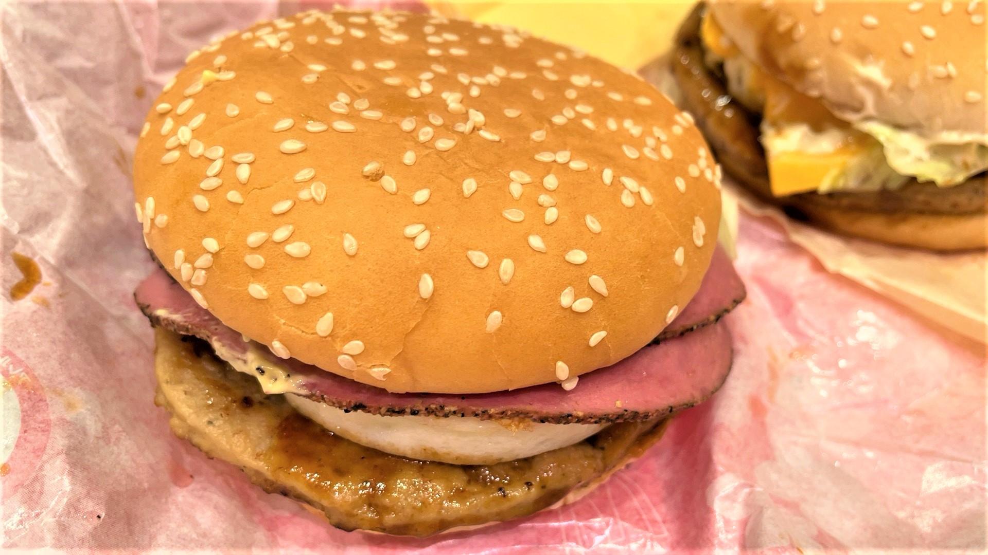 はみ出るパストラミビーフてりたま(マクドナルド)を食べてみた【感想・口コミは?】
