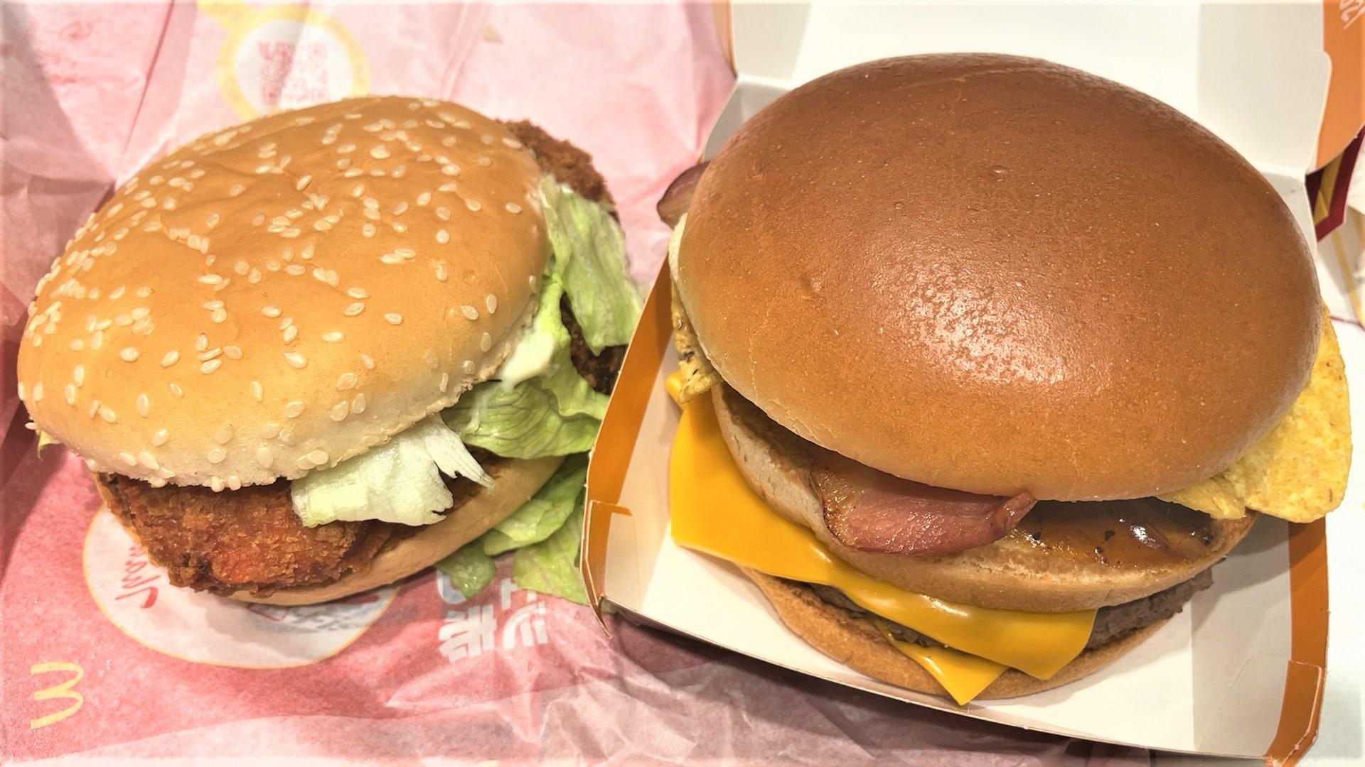 テキサスバーガー2021、ジューシーチキン赤とうがらし(マクドナルド)を食べてみた【感想・口コミは】